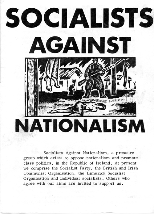 irish nationalism Nationalism in james joyce james joyce´s work is consagrated to irelandthe city of dublin is the location for  but unlike most other irish nationalists, .