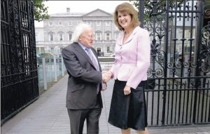 Labour TDs in cordial greeting as Dáil resumes