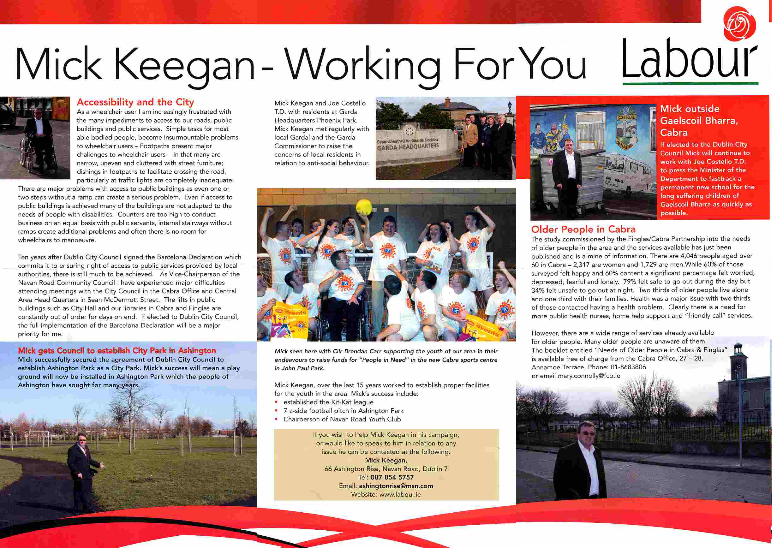Lp Keegan For Delegate
