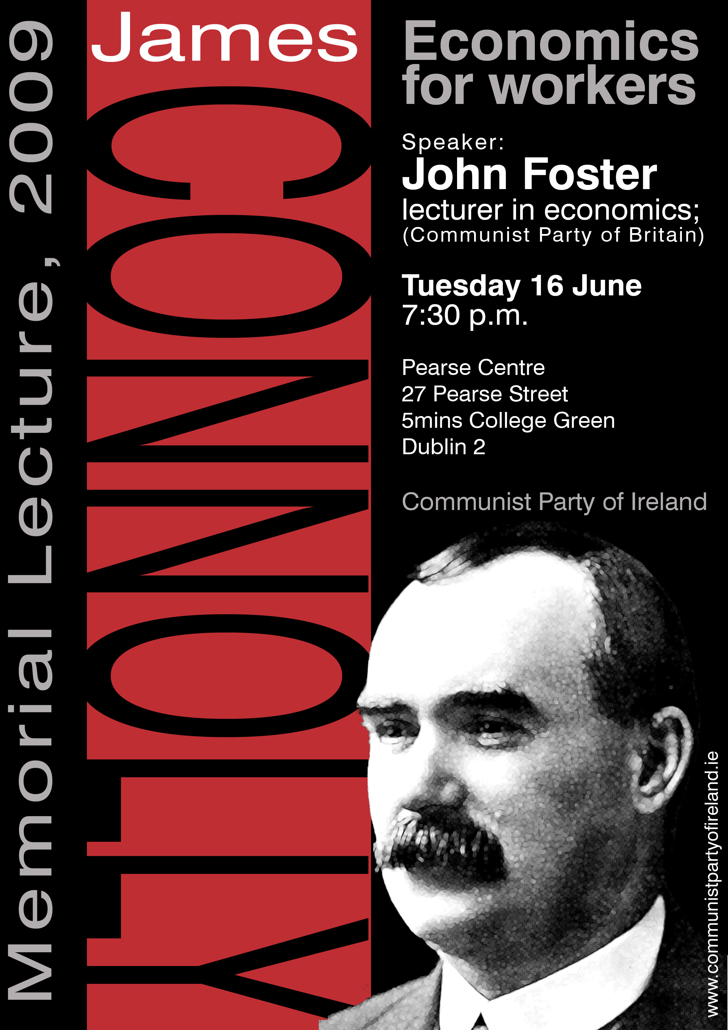 James Connolly Poster For Printing