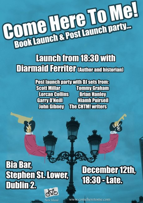 CHTM! Book Launch Poster (12.12.12)