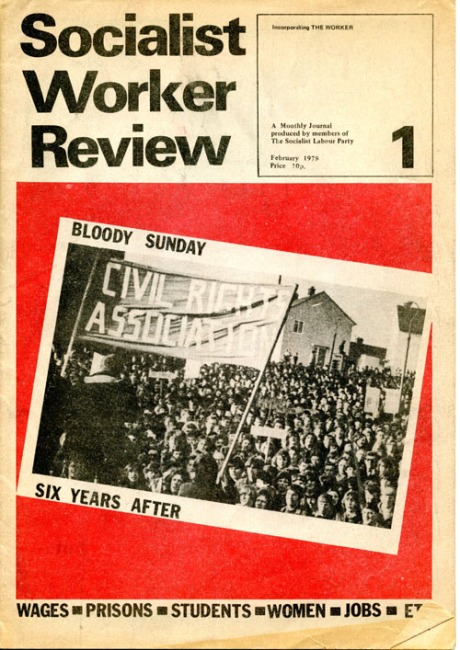 SOCIALIST WORKER REVIEW cover