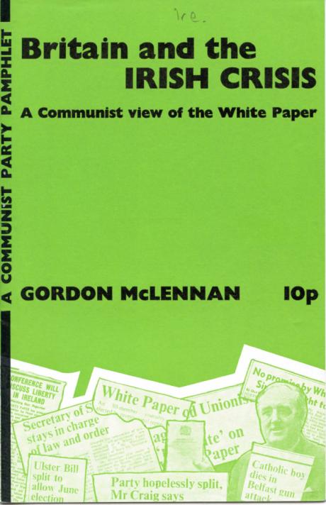 CPGB COVER 1973