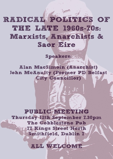 SAOR EIRE MEETING POSTER