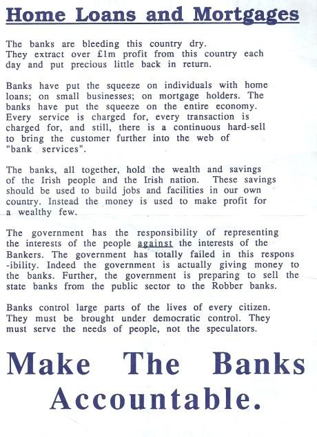 WP A5 leaflet Banks c.1990 side 1