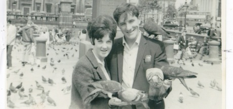 Richard and his then girl friend Olive Dignam
