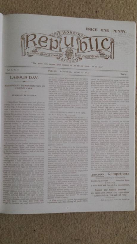Workers' Republic June 1915
